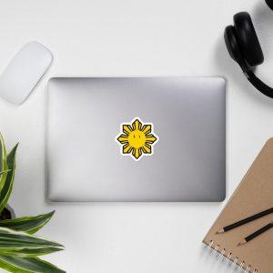 Gamer Sun Sticker Bubble-Free - Funny Filipino - Pinoy - Pinay - Phillippines - Filipino American - Game Parody - Filipino Christmas Gift