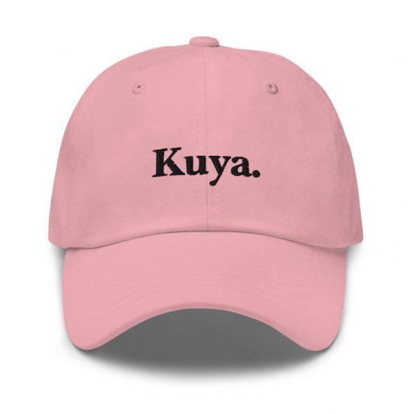 Kuya Filipino Dad Hat BLACK/WHITE EMBROIDERED - Funny Filipino Gift - Pinoy - Pinay - Philippines - Filipino American - Gift for your Kuya!