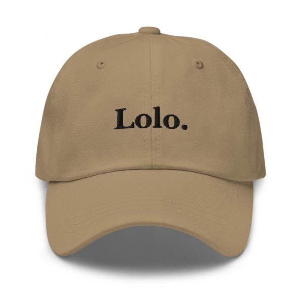 Lolo Filipino Dad Hat BLACK/WHITE EMBROIDERED - Funny Filipino Gift - Pinoy - Pinay - Philippines - Filipino American - Gift for your Lolo!