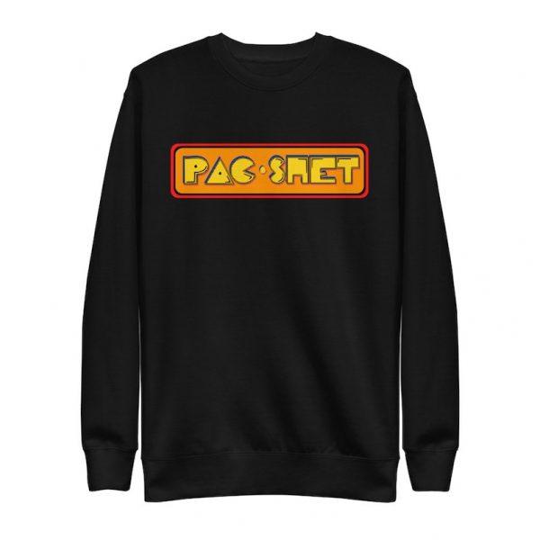 Pac Shet Unisex Fleece Pullover Funny Filipino Clothing - Filipino Christmas Gift - Pak Shet - Pinoy - Pinay -  Aracade Game Parody