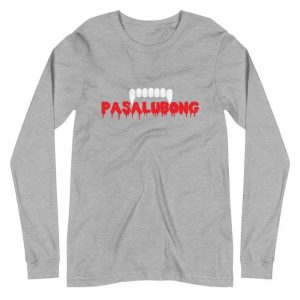 Pasalubong Halloween Edition [October Only!] Premium Long Sleeve Unisex/Men's - Funny Filipino Clothing - Pinoy - Pinay - Phillippines