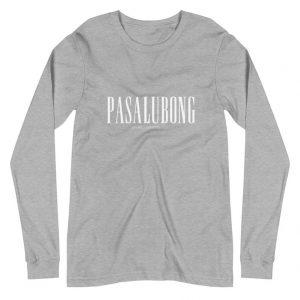 Pasalubong Premium Long Sleeve Unisex/Men's - Funny Filipino Clothing - Pinoy - Pinay - Phillippines