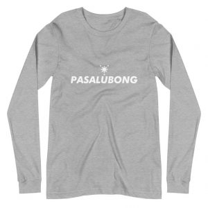 Pasalubong Sun & Stars Edition Premium Long Sleeve Unisex/Men's - Funny Filipino Clothing - Pinoy - Pinay - Phillippines