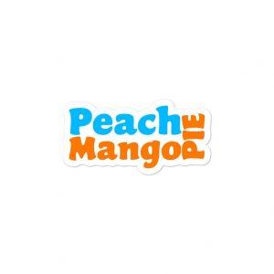 Peach Mango Pie Sticker Bubble-Free - Filipino - Funny Filipino - Pinoy - Pinay - Phillippines - Filipino American - Fast Food Sticker