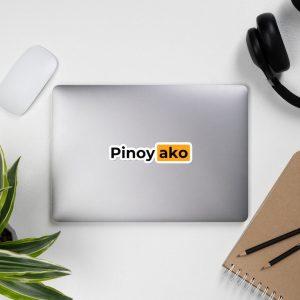 Pinoy Ako Filipino Sticker Bubble-Free - Funny Filipino - Pinoy - Pinay - Phillippines - Filipino American - Pornhub Parody