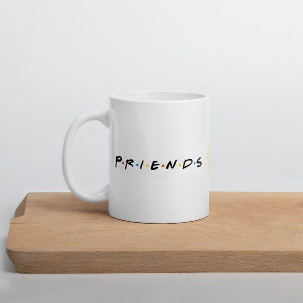 PRIENDS Mug Modern Design - Funny Filipino - Pinoy - Pinay - Phillippines - Filipino American - Coffee - Tea - Cup - FRIENDS Parody