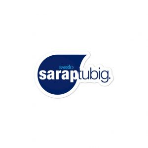 Sarap Tubig Sticker Bubble-Free - Filipino - Funny Filipino - Pinoy - Pinay - Phillippines - Filipino American - Smart Water Parody
