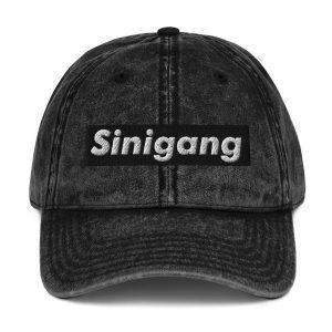 Sinigang Vintage Cotton Twill Dad Cap - Filipino - Funny Filipino - Pinoy - Pinay - Phillippines - Filipino American - Streetwear Parody