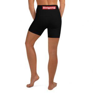 Sinigang Women's Yoga Shorts - Biker Shorts - 3D Design - Filipina - Funny Filipino - Pinoy - Pinay - Filipino American - Streetwear Parody