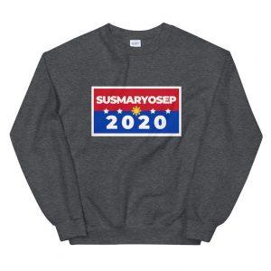 SUSMARYOSEP 2020 Unisex Sweatshirt - Funny Filipino Clothing - Election - Vote - Campaign - Political Party - Parody Shirt - Christmas