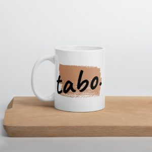 Tabo Paint Brushed Mug - Filipino - Funny Filipino - Pinoy - Pinay - Phillippines - Filipino American - Coffee - Tea - Cup