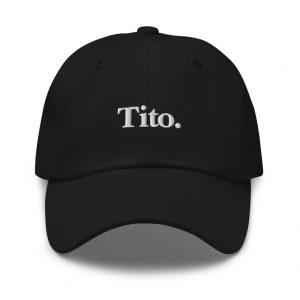 Tito Filipino Dad Hat BLACK/WHITE EMBROIDERED - Funny Filipino Gift - Pinoy - Pinay - Philippines - Filipino American - Gift for your Tito!