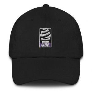 UBE Embroidered Dad Hat - Filipino Gift - Funny Filipino - Pinoy - Pinay - Phillippines - Filipino Clothing - Streetwear Parody