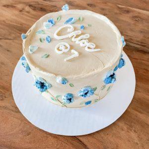 Custom Floral Cake by Greyworks - Edmonton