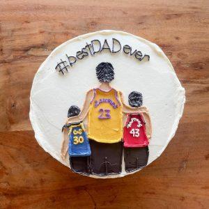 Custom Father's Day Cake Edmonton